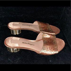 Salvatore Ferragamo glam sandal